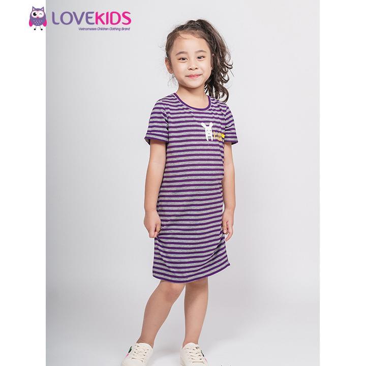 Giá bán Váy xuông kẻ tím Best Friend bé gái - Lovekids