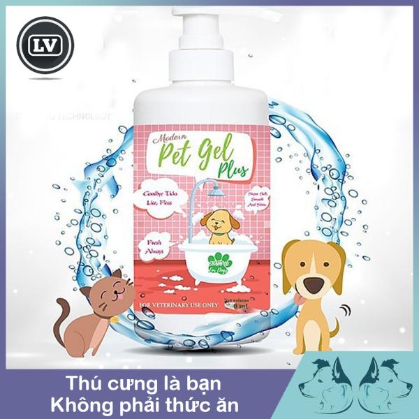 Sữa Tắm Cho Chó Diệt Ve - Rận - Bọ Chét Pet Gel Plus 500ml Phụ kiện Long Vũ