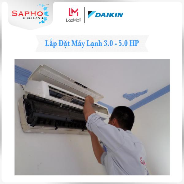 Lắp Đặt Máy Lạnh 3.0 HP - 5.0 HP