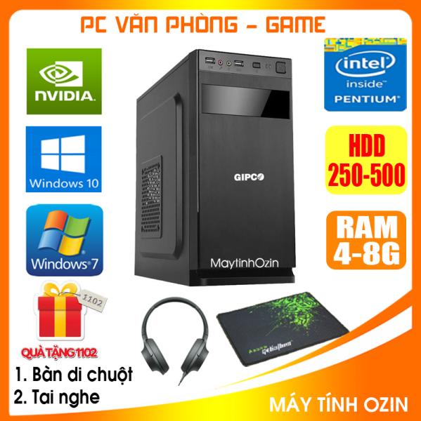 Bảng giá Case máy tính để bàn CPU Pentium G2010 / Core i5-3330 / Ram 4GB / HDD 250GB-500GB / SSD 120GB-240GB + [QUÀ TẶNG: Bộ phím chuột không dây + bàn di chuột] - SDV Phong Vũ