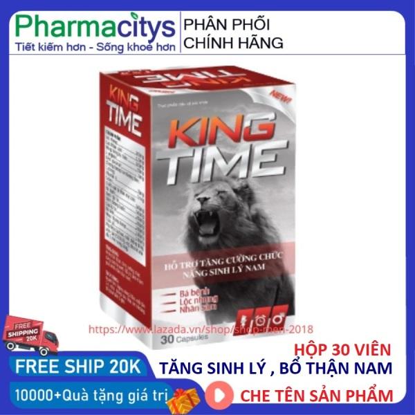 Tăng cường sức khỏe nam giới tăng sinh lý nam kéo dài thời gian quan hệ KING TIME 30 viên giá rẻ