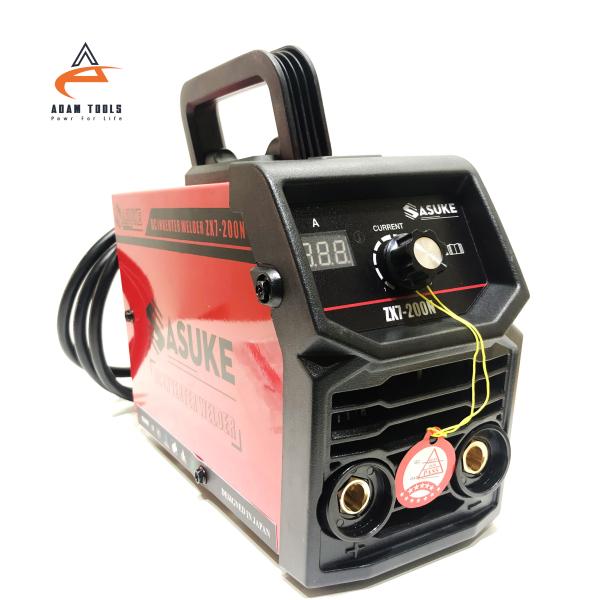 Máy hàn mini Sasuke ZX7-200N có đồng hồ  - máy hàn que 200A , máy hàn điện tử , máy hàn mini gia đình , máy hàn sắt , máy hàn inox