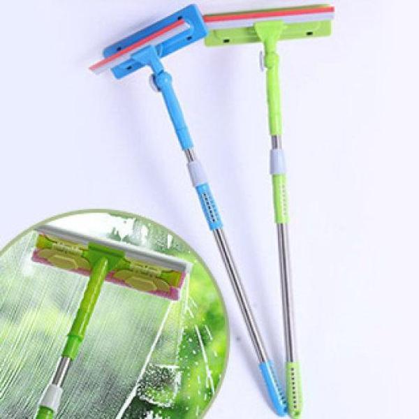 Cây lau kính kéo dài 2 trong 1 tiện dụng, dụng cụ lau kính, cây lau kính cầm tay, cây lau kính cán dài, cây gạt nước dụng cụ vệ sinh chùi rửa kiếng thân dài tiện lợi đa năng thông minh.