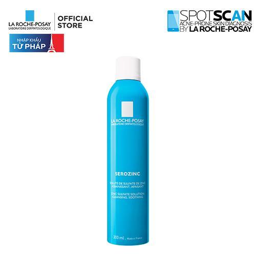 Xịt khoáng giúp làm sạch & làm dịu da La Roche Posay Serozinc  300ML tốt nhất