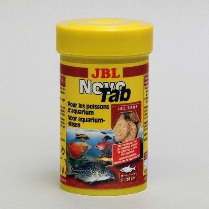 Thức ăn dán JBL NovoTab, làm giảm sự phát triển của tảo nhờ hàm lượng phosphate cân bằng, chất lượng nước tốt hơn do khả năng tiêu hóa tốt hơn của thực phẩm