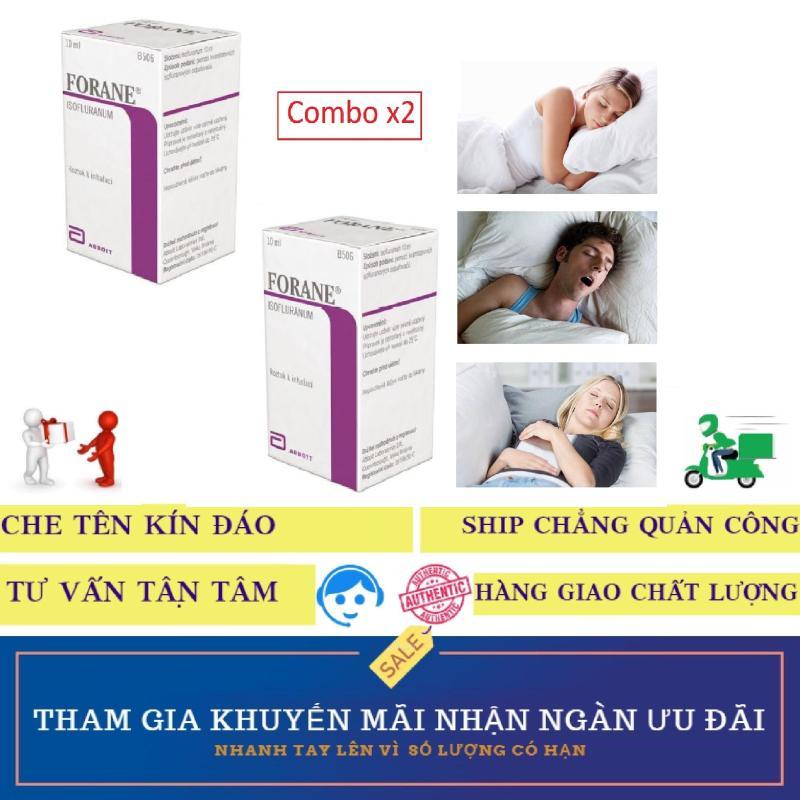 Combo x2 Thuốc chai xịt FORANE hỗ trợ mê giấc ngủ (10ml)