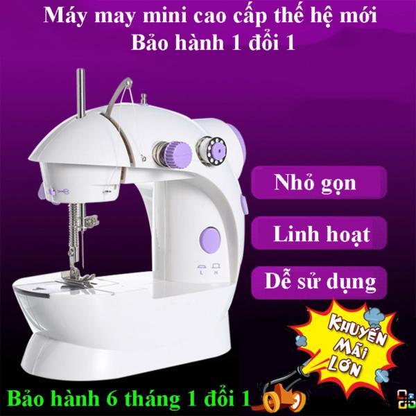 Máy Khâu Mini Có Vắt Sổ, Máy May Mini Tr-616 Cao Cấp Tiện Lợi Hoạt Động Êm Ái Dễ Dàng Thao Tác Sử Dụng May Vá Riêng Cho Các Mẹ Tại Nhà