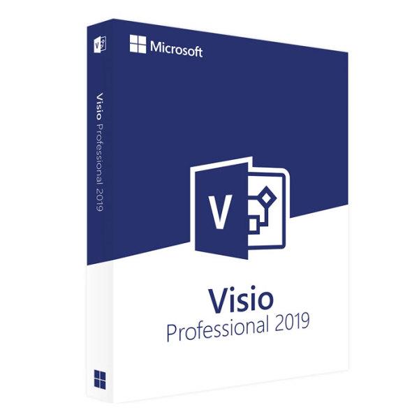 Bảng giá Phần mềm MS Visio Professional 2019 Phong Vũ