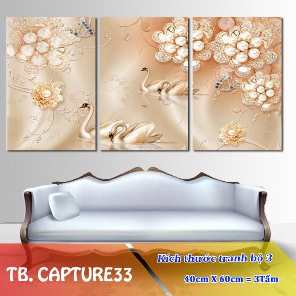 Tranh Treo Tường Hoa 3D Capture33- Tranh Formex Treo Tường 3D