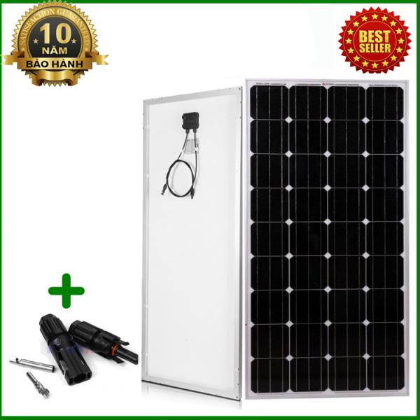 Tấm Pin năng lượng mặt trời đơn tinh thể Mono 170W tặng kèm jack MC4