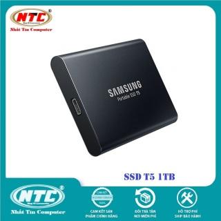 Ổ cứng di động SSD External Samsung T5 1TB - USB 3.1 Gen 2 (Đen) - Nhất Tín Computer thumbnail