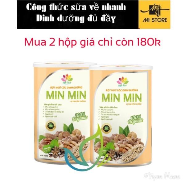 Bột ngũ cốc lợi sữa Min min dinh dưỡng toàn diện mới 29 loại hạt