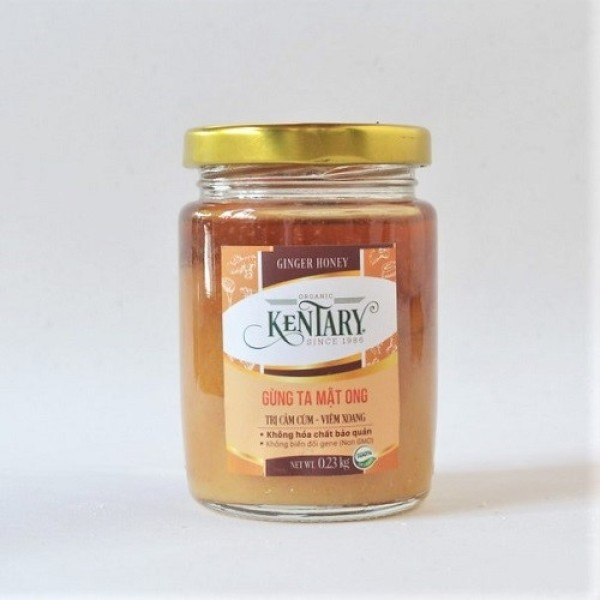 Gừng ta mật ong Kentary 230gr