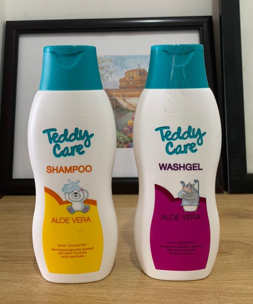 2 Chai Dầu Gội Và Tắm Teddy Care Aloe Vera 300ml Cho Bé Đang Có Ưu Đãi