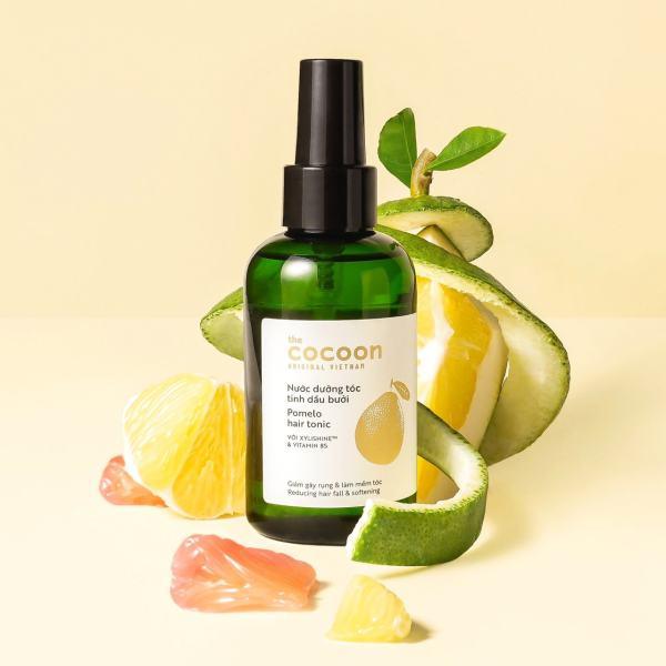 [GIẢM RỤNG TÓC, GIÚP MỌC TÓC ] Nước dưỡng tóc tinh dầu bưởi (pomelo hair tonic) Cocoon 140ml cao cấp
