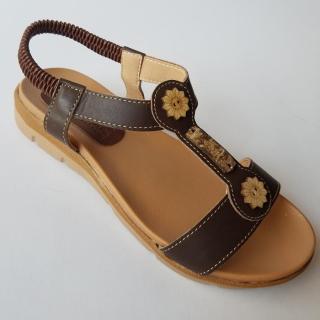 [HCM]Giày Sandal nữ da bò thật cao cấp bảo hành một năm thumbnail