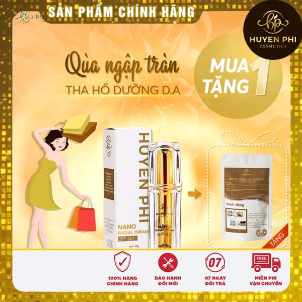 Kem Face NaNo makeup dưỡng da mịn màng, chống nắng, se khít lỗ chân lông, mùi thơm, bật tone ngay lần đầu sử dụng. giá rẻ