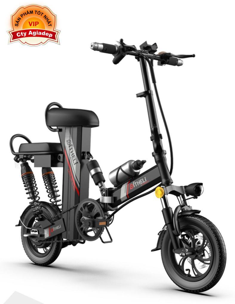 Mua Siêu xe đạp điện Heli Theranos mạnh mẽ sành điệu (Hàng nhà giàu) - Pin Lithium 300km phù hợp Golf, Resort, Dã ngoại v.v