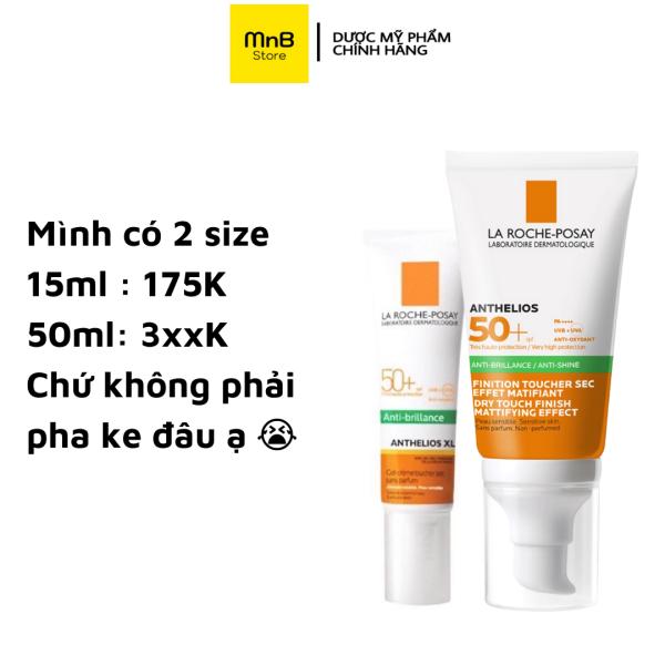 Kem Chống Nắng La Roche Posay Anthelios XL Anti Shine Dry Touch SPF 50+ 50ml