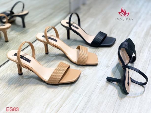 [SenXanh] Sandal quai ngang gân quai chun sau gót nhọn - 7P giá rẻ
