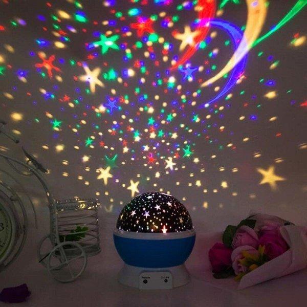Đèn LED vũ trường Mini PV01 trang trí shop, phòng karaoke