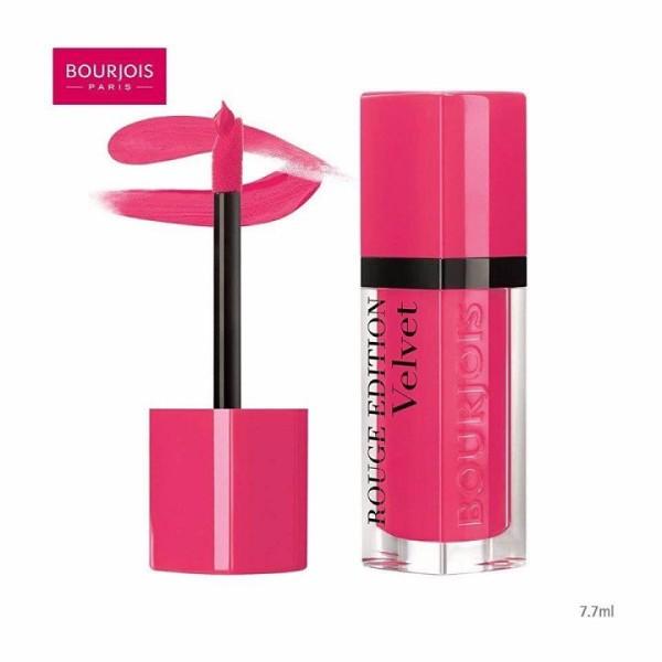 [HCM]Son bourjois rouge edition velvet 34 - belle amoureuse - màu hồng cánh sen sản phẩm có nguồn gốc xuất xứ rõ ràng dễ dàng sử dụng đảm bảo chất lượng