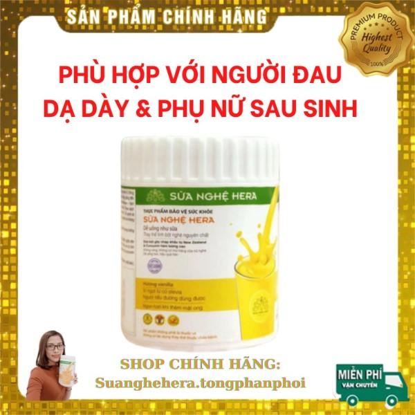 Sữa Nghệ Hera 100gr 💖 PHÙ HỢP VỚI NGƯỜI ĐAU DẠ DÀY💖TỐT CHO PHỤ NỮ SAU SINH, LỢI SỮA nhập khẩu