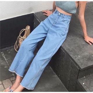Shop Tổng Kho Jeans Tri Ân Khách Hàng Tặng Quà Toàn Quốc và XẢ BÁN QUẦN ỐNG RỘNG NỮ CÁ TÍNH THỜI TRANG CAO CẤP BAGGY ỐNG RỘNG 4 TỔNG KHO JEAN TOÀN QUỐC thumbnail