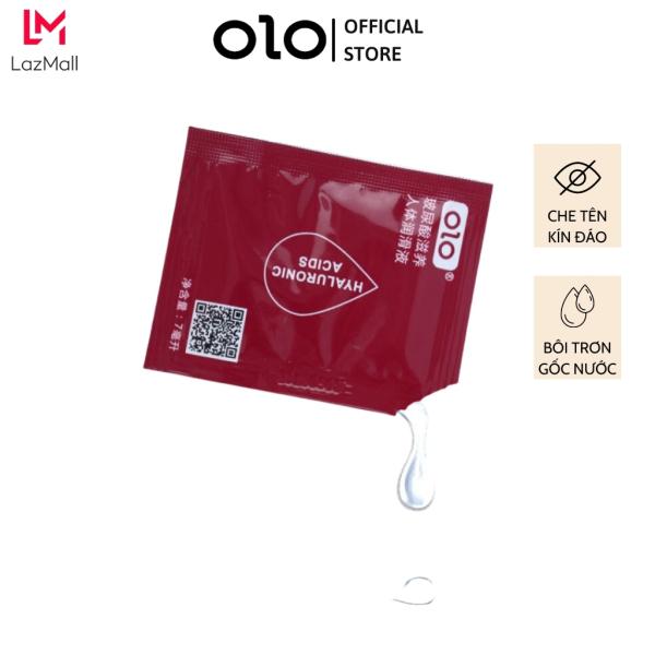 Gel bôi trơn OLO cao cấp gốc nước, gói nhỏ 7ml tiện dụng