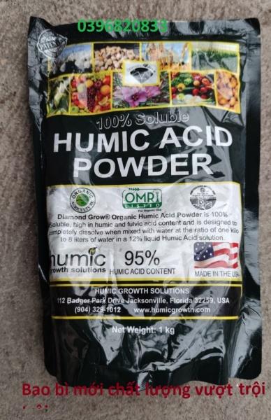 Phân hữu cơ Acid Humic nhập khẩu trực tiếp từ mỹ gói 1kg