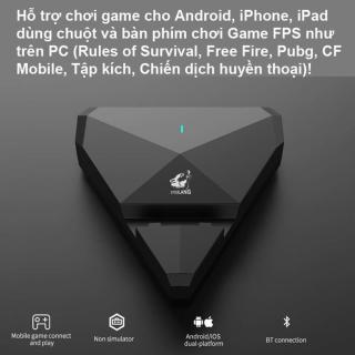 Bộ Chuyển Đổi FREEWOLF G1 G5 G5 pro G6 hỗ trợ chơi game PUBG Mobile cho Android IOS Chơi Game PUBG Mobile Kiêm Giã Đỡ Pad như PC thumbnail