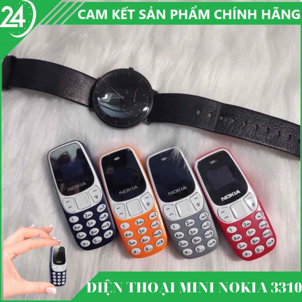 Điện Thoại Mini Siêu Nhỏ 3310MINI - 2 Sim 2 Sóng, Nghe Nhạc MP3, Đổi Kiểu Giọng Nói Khi Nghe Gọi - Thiết Kế Nhỏ Gọn Dễ Cất Giấu