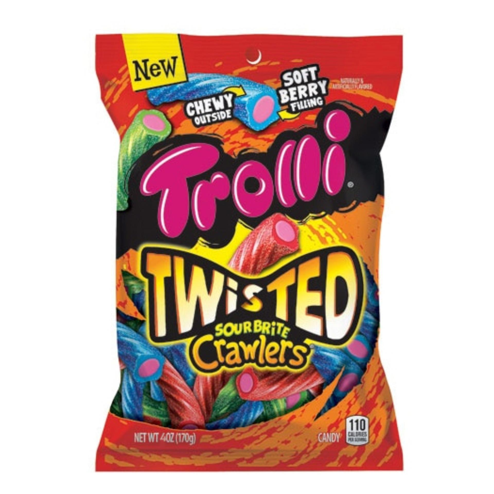 Kẹo dẻo Trolli Twisted Sour Brite Crawlers