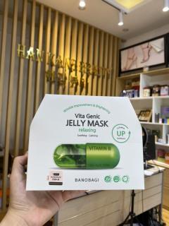 Mặt nạ thư giãn, sáng da, phục hồi da Banobagi vita Genic Jelly Mask Lifting (1 hộp 10 miếng) thumbnail