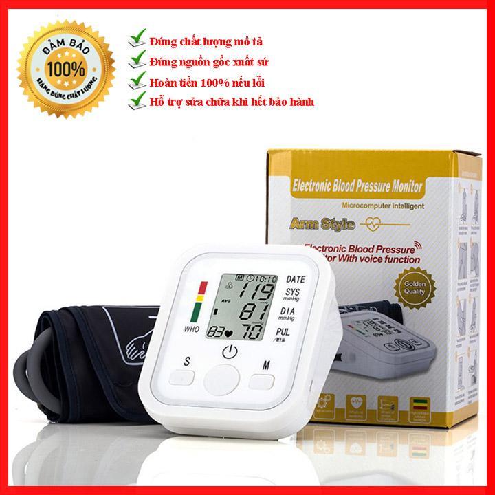 Máy đo huyết áp bắp tay tự động Jziki ZK-B02 bán chạy