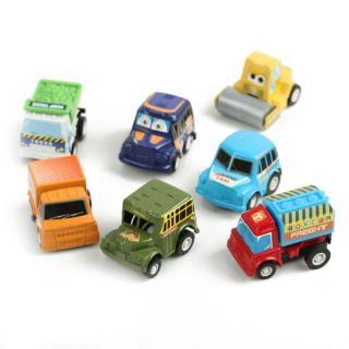 [MIỄN PHÍ GIAO HÀNG] Bộ đồ chơi 6 ô tô chạy đà bằng nhựa - Sam Shop thumbnail