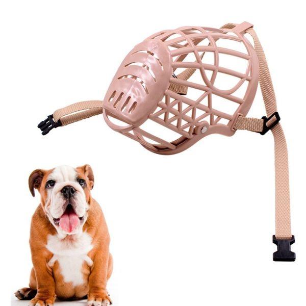 ARICA Thoáng khí Anti Stop Bite Chống cắn Nhựa Chải lông miệng nạ cho chó Đồ dùng cho thú cưng Rọ mõm cho chó cưng