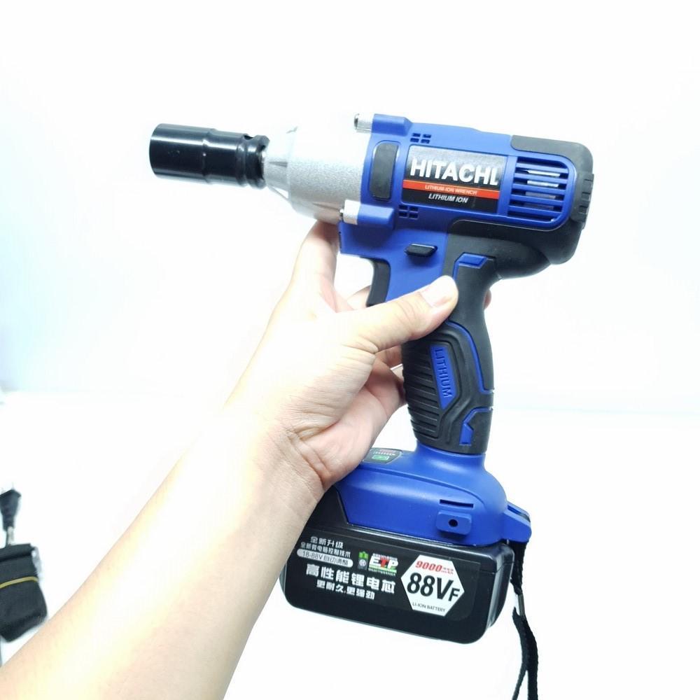 Máy khoan bắt bu lông HITACHI 12.7mm 0-2800min ( XANH )