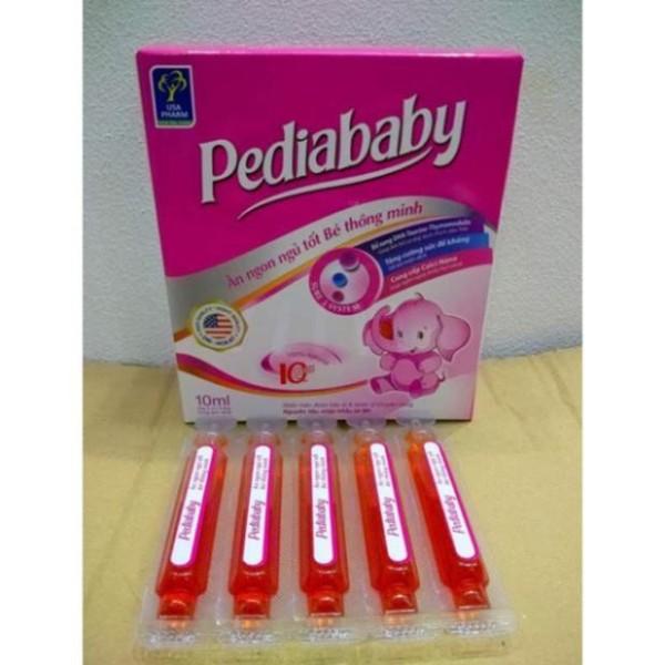 Pediababy giúp bé ăn ngon ngủ tốt bé thông minh hộp 20 ống new, sản phẩm có nguồn gốc xuất xứ rõ ràng, đảm bảo chất lượng, dễ dàng sử dụng