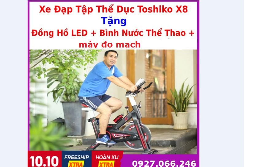 Xe đạp tập thể dục, xe đạp Toshiko tập luyện tại nhà