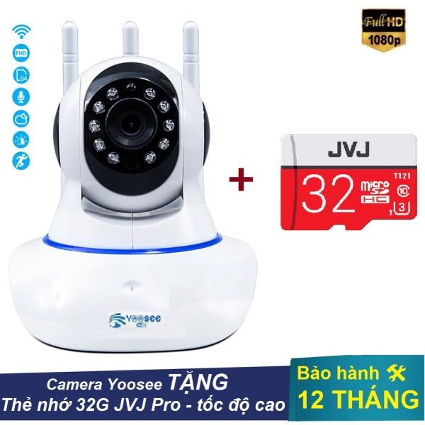 Camera yoosee wifi 3 râu 2.0 - Hỗ trợ tiếng việt 2019, Chất lượng uy tín, Bảo hành 12 tháng