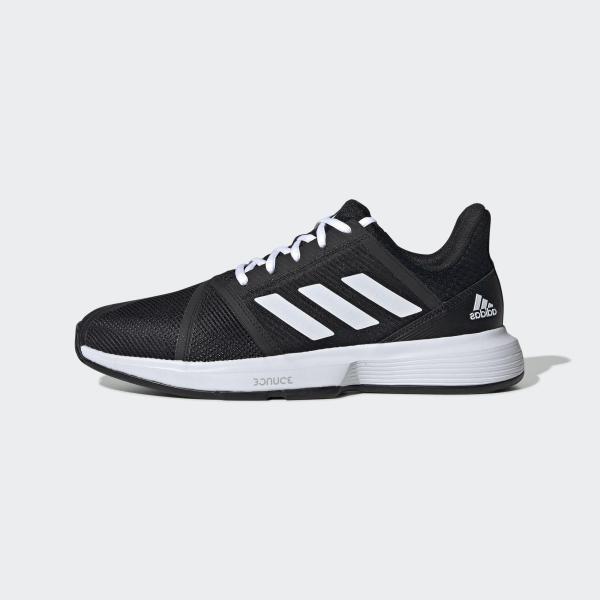 Bảng giá adidas TENNIS Giày CourtJam Bounce Nam Màu đen EG1136