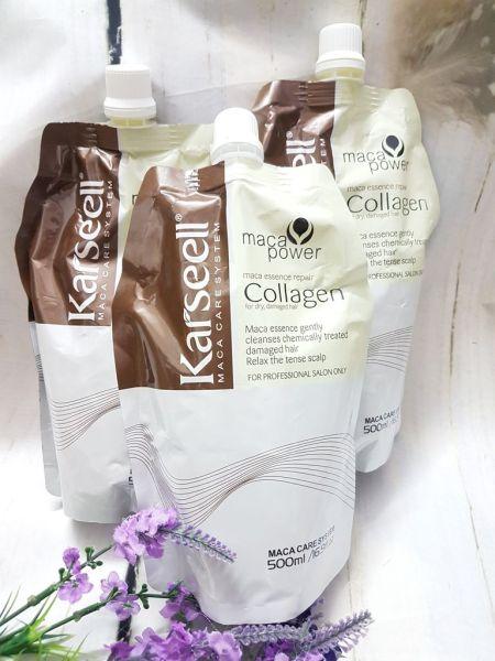 Ủ tóc Collagen Karseell 500ml nhập khẩu