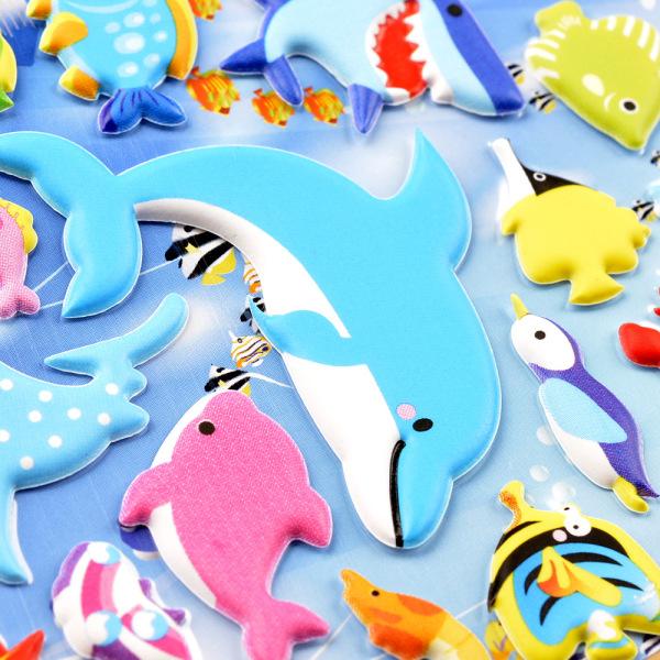 Mua Đồ chơi-Sticker Hình Dán 3D Hỗ trợ tăng từ vựng cho bé 0-5 tuổi