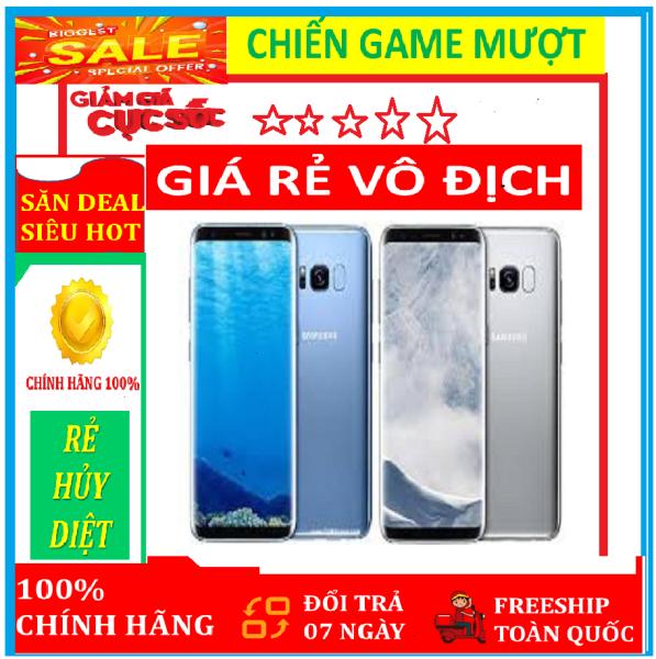 [ XẢ KHO GIÁ SỈ ] điện thoại SAMSUNG GALAXY S8 2 sim - ram 4G rom 64G - ĐỦ Màu . - Máy XỊN, chơi Game mượt