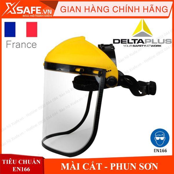 [HCM]Mặt nạ mài cắt Deltaplus Balbi2 kính bảo hộ chống văng bắn hóa chất bảo vệ mắt mũi miệng Chính hãng [XSAFE] [XTOOLs]