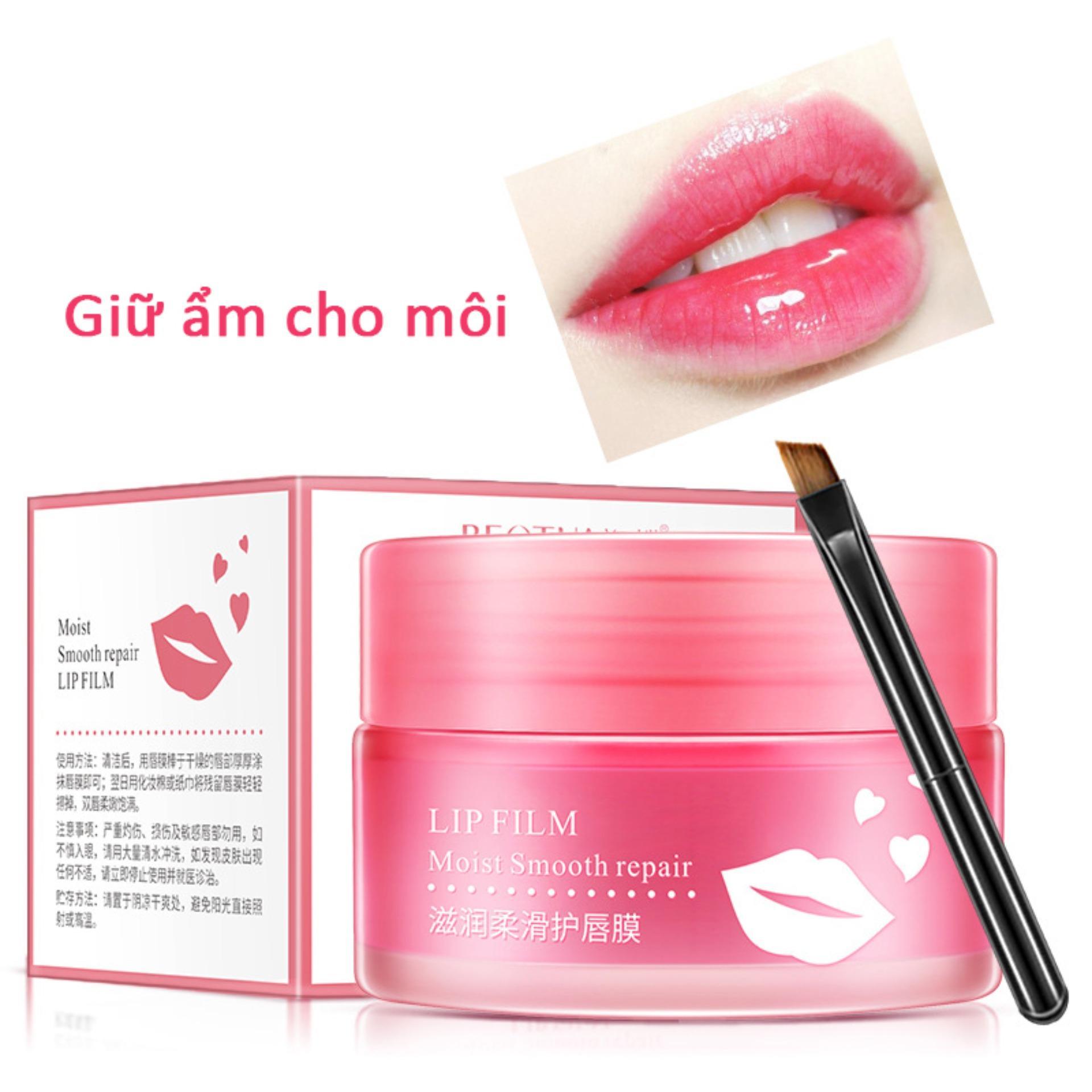 【Urbeauty】 Run Sleep Lip Mask Tẩy tế bào chết dưỡng ẩm Lip Balm Chăm sóc môi Lip Lip tốt nhất