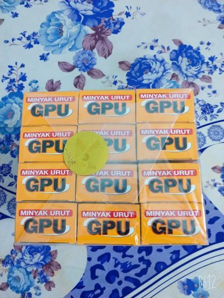 Combo 12 Chai Dầu Nóng Gừng Xoa Bóp GPU 60ml indonsia