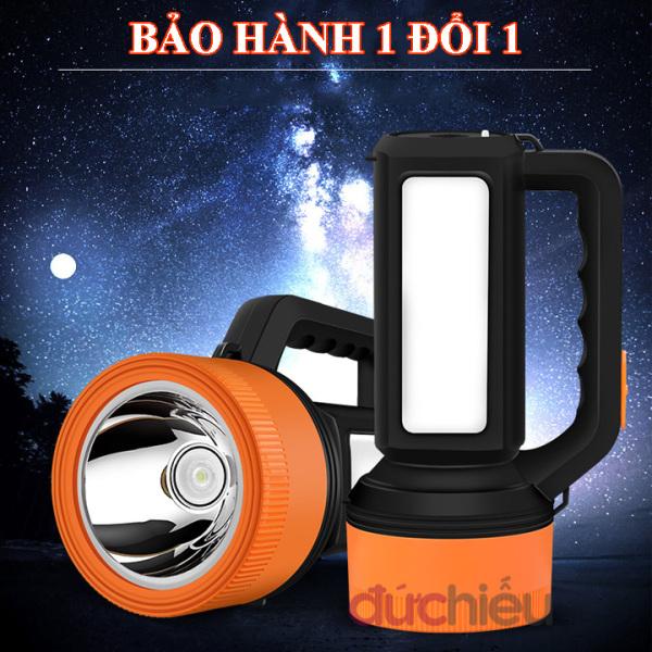 Bảng giá Đèn pin đa năng 2 trong 1 sáng mạnh KY-7695, đèn pin tích điện, đèn pin sạc  Đức Hiếu Shop