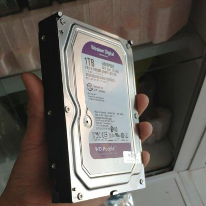 Giá Ổ cứng WD Purple Surveillance 1TB tem Vĩnh Xuân